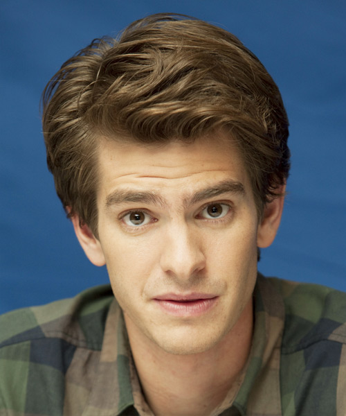 Andrew Garfield Short Straight Formal   Hairstyle