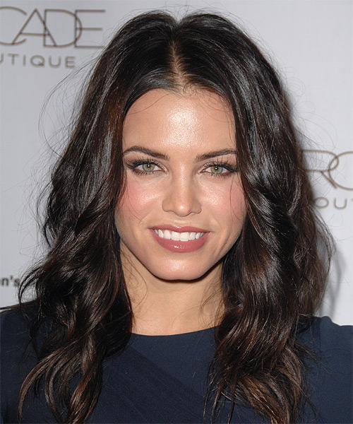 Jenna Dewan Long Straight Casual    Hairstyle   - Mocha Hair Color