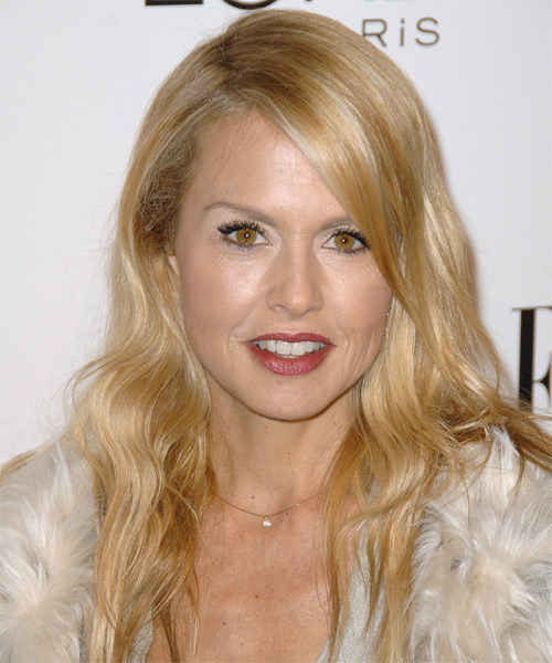 Rachel Zoe Long Straight Casual   Hairstyle