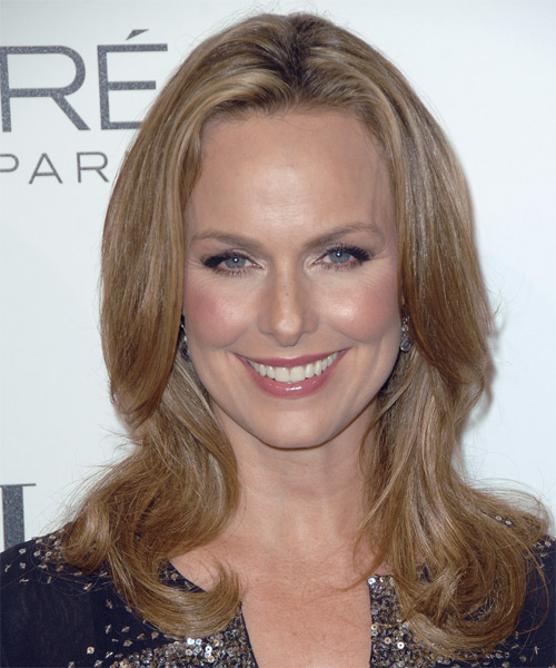 Melora Hardin Long Straight Casual   Hairstyle