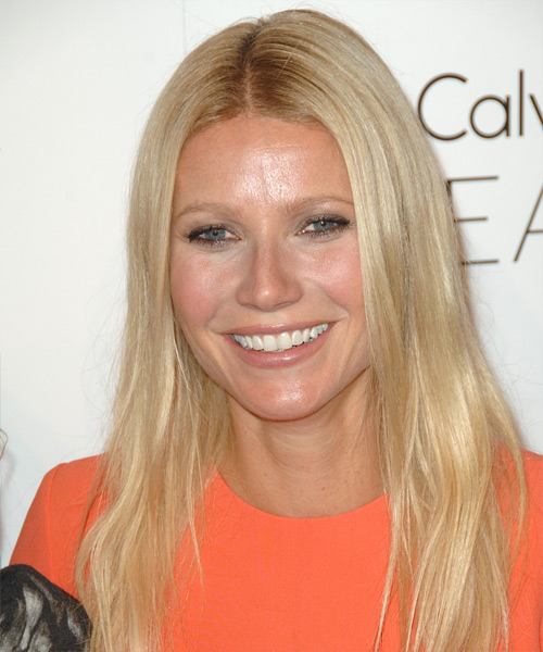 Gwyneth Paltrow Long Straight Casual   Hairstyle