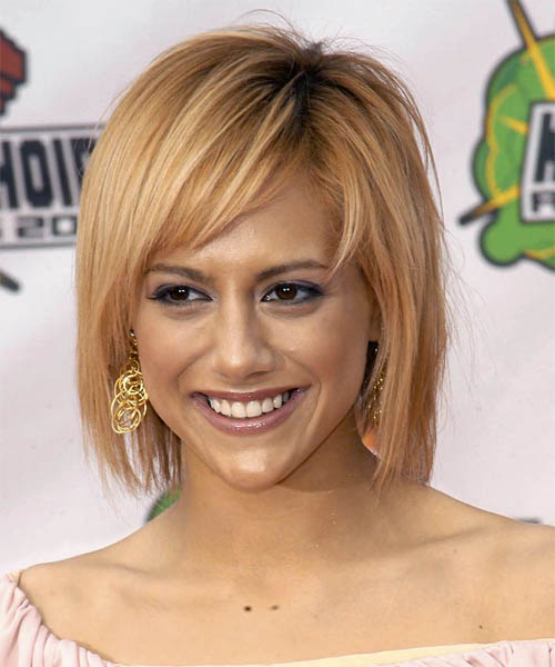 Brittany Murphy Medium Straight Casual   Hairstyle
