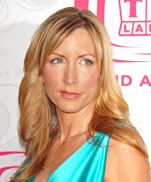 Heather Mills Long Straight Casual   Hairstyle
