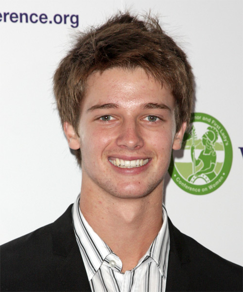 Patrick Schwarzenegger Short Straight Casual   Hairstyle