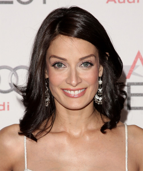 Dayanara Torres Medium Straight Formal   Hairstyle