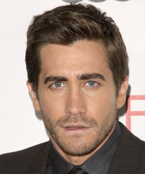 Jake Gyllenhaal Short Straight Formal Hairstyle