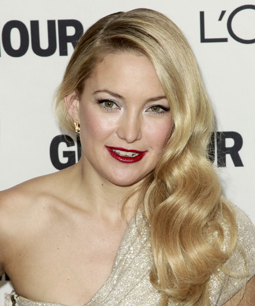 Kate Hudson Long Wavy Formal   Hairstyle