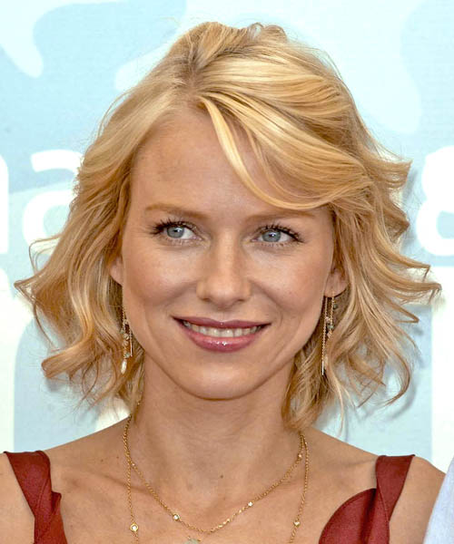 Naomi Watts Medium Wavy Formal    Hairstyle