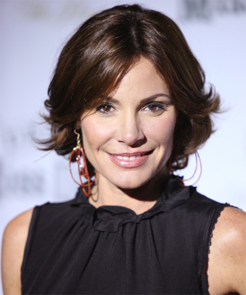 Countess LuAnn de Lesseps Medium Straight Formal   Hairstyle