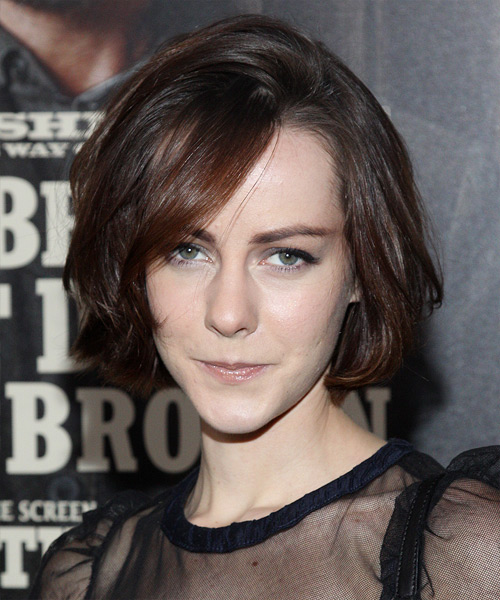 Jena Malone Medium Straight Casual   Hairstyle