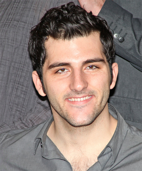 Kevin Fugaro Short Wavy Casual    Hairstyle   - Black  Hair Color