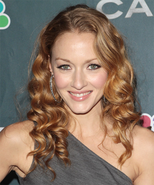 Jennifer Ferrin Long Curly Formal   Hairstyle
