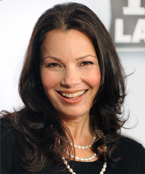 Fran Drescher Long Wavy Casual   Hairstyle