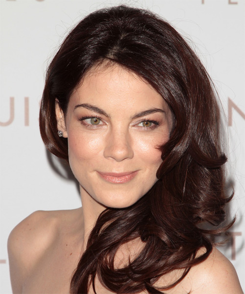 Michelle Monaghan Long Wavy Formal   Hairstyle