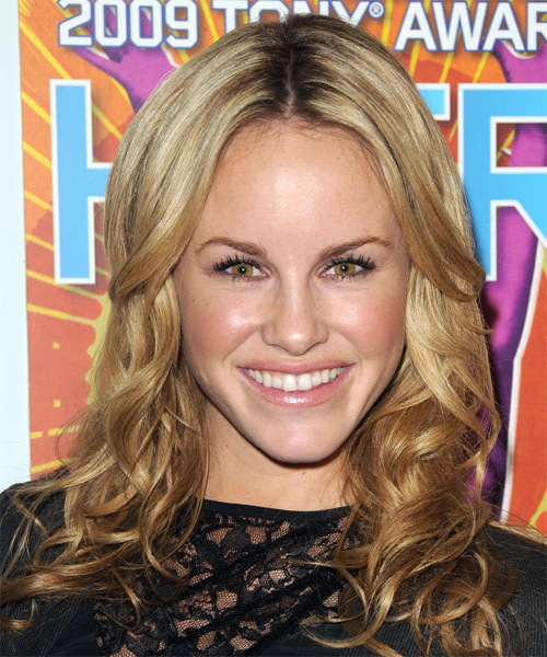 Julie Berman Long Wavy Formal   Hairstyle