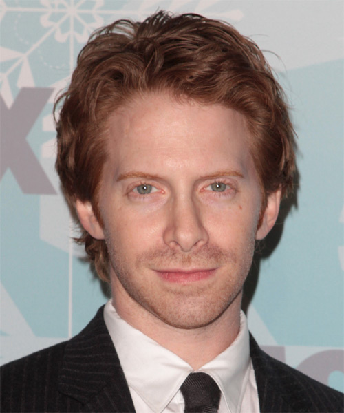 Seth Green Short Wavy Casual   Hairstyle