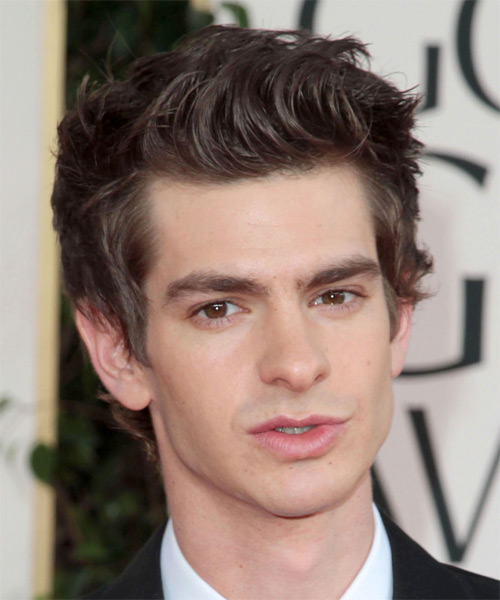 Andrew Garfield Short Straight Casual   Hairstyle