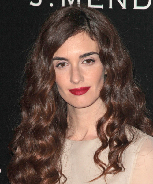 Paz Vega Long Wavy Casual   Hairstyle