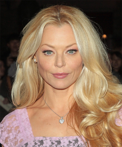 Charlotte Ross Formal Long Wavy Hairstyle Light Blonde