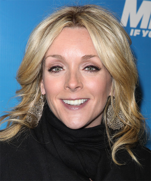 Jane Krakowski Medium Wavy Casual   Hairstyle   - Medium Blonde