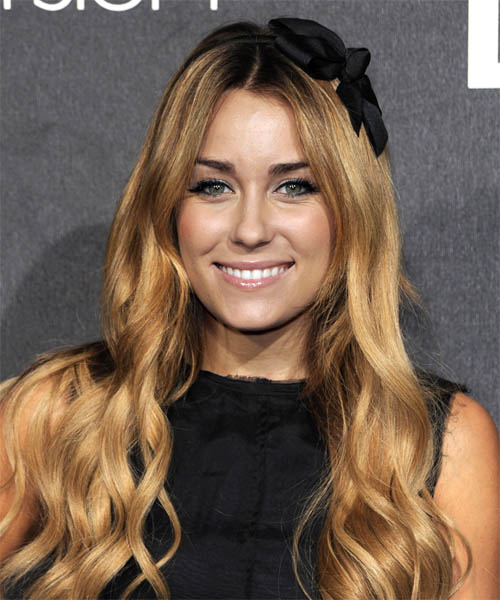 Lauren Conrad Long Wavy Casual   Hairstyle