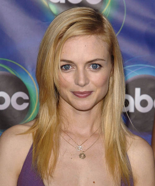 Heather Graham Long Straight Casual    Hairstyle