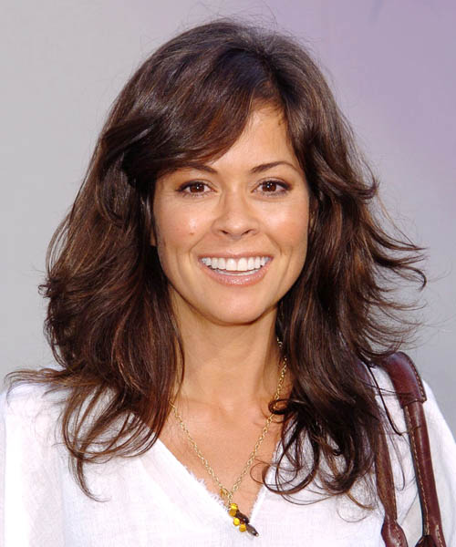 Brooke Burke Long Wavy Casual   Hairstyle