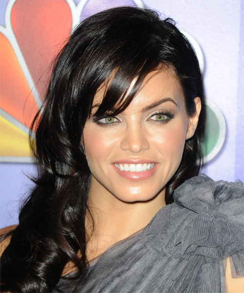 Jenna Dewan Long Wavy Casual   Hairstyle   - Black