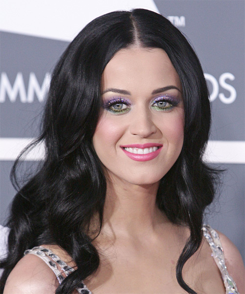 Katy Perry Long Wavy Formal    Hairstyle