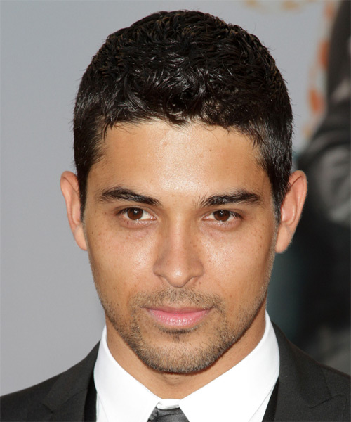 Wilmer Valderrama Short Straight Casual   Hairstyle   - Black