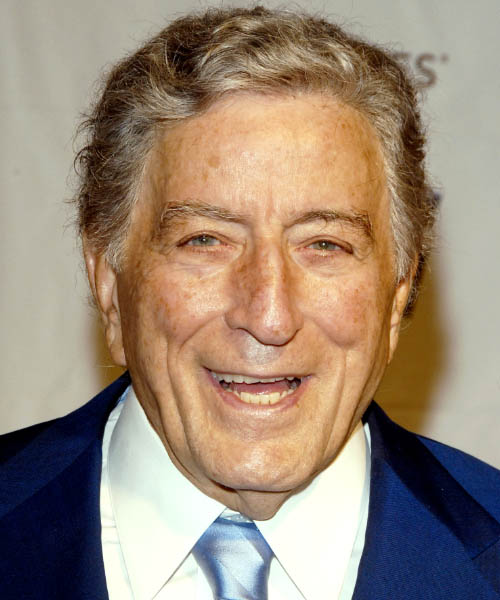 Tony Bennett Short Straight Formal   Hairstyle