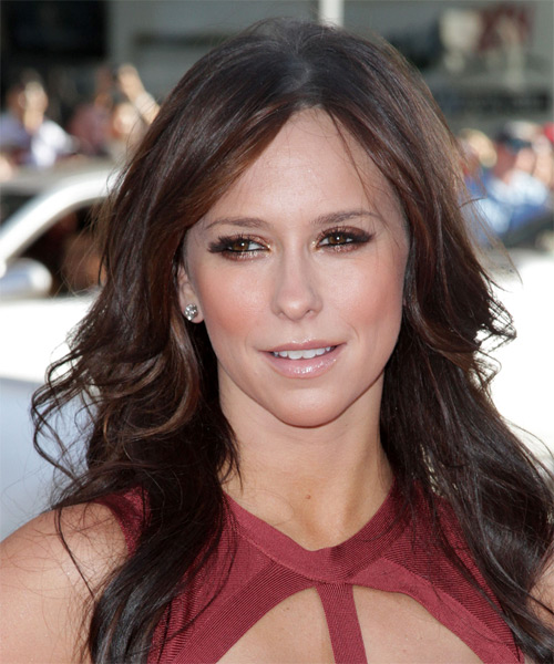 Jennifer Love Hewitt Long Wavy Casual hairstyle