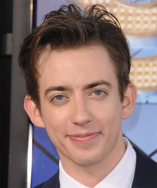 Kevin McHale Short Straight Formal   Hairstyle   - Medium Brunette