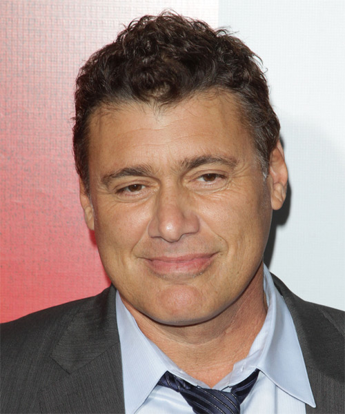 Steven Bauer Short Wavy Casual   Hairstyle   - Dark Brunette
