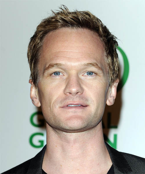 Neil Patrick Harris Short Straight Casual   Hairstyle
