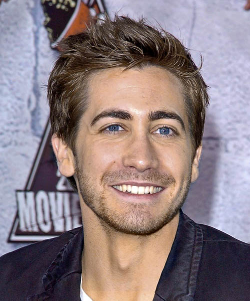 Jake Gyllenhaal Short Straight Casual   Hairstyle