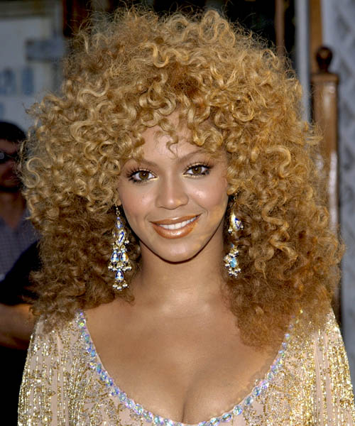 Beyonce Knowles Long Curly Alternative   Hairstyle