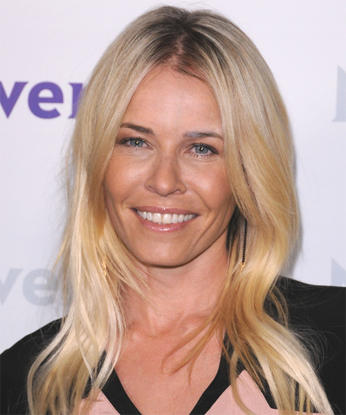 Chelsea Handler Long Straight Casual   Hairstyle