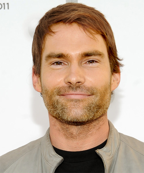 Sean William Scott Short Straight Casual Hairstyle Light