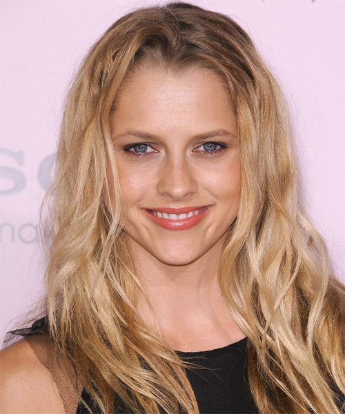 Teresa Palmer Long Straight Casual   Hairstyle   - Light Blonde