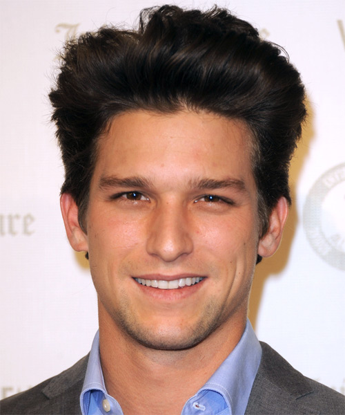 Daren Kagasoff Short Straight Formal   Hairstyle   - Black