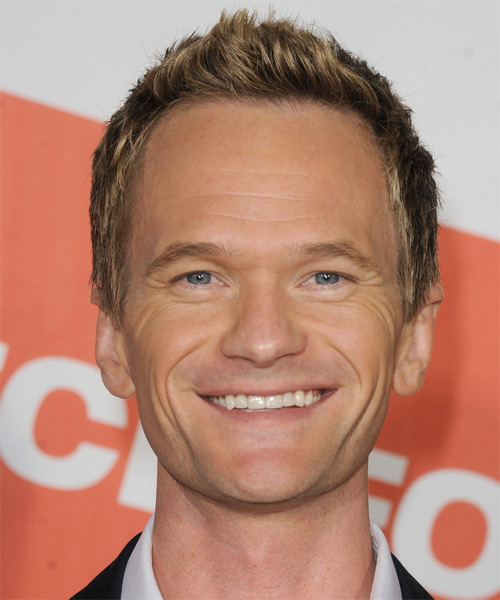 Neil Patrick Harris Short Straight Casual    Hairstyle   - Dark Golden Blonde Hair Color