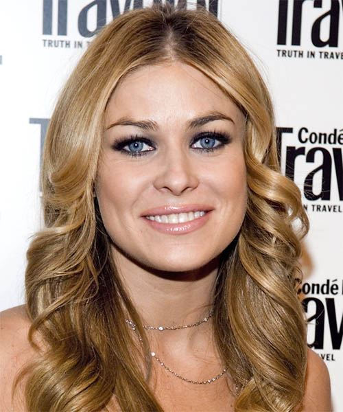 Carmen Electra Long Wavy Formal   Hairstyle