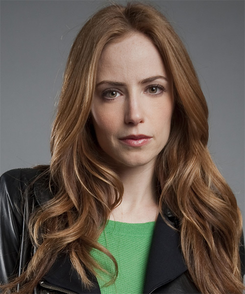 Jaime Ray Newman  Long Straight Formal   Hairstyle   - Medium Brunette (Caramel)