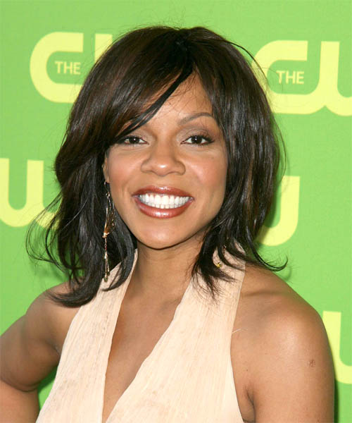 Wendy Raquel Robinson Medium Straight Casual   Hairstyle