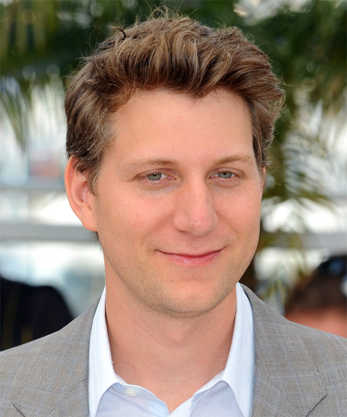 Jeff Nichols Short Straight Casual   Hairstyle