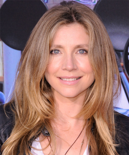 Sarah Chalke Long Straight Casual   Hairstyle   - Dark Blonde