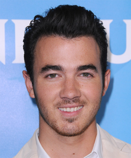 Kevin Jonas Short Straight Casual   Hairstyle   - Dark Brunette