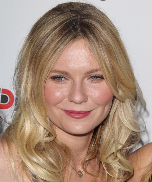 Kirsten Dunst Medium Straight Casual    Hairstyle   -  Blonde Hair Color with Light Blonde Highlights