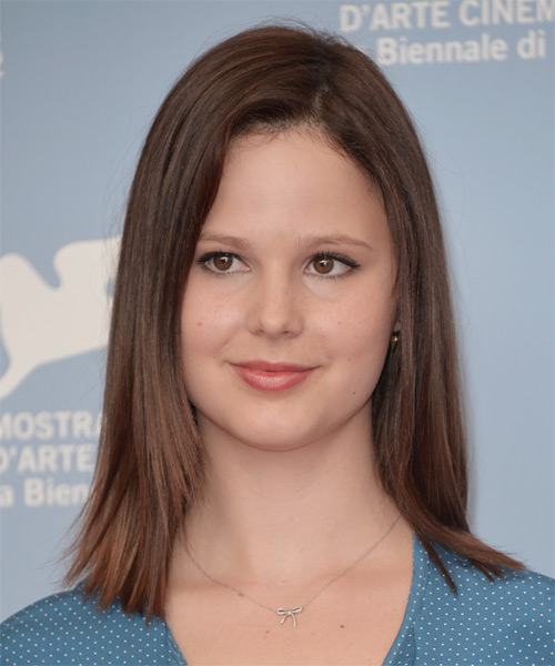 Rachel Korine Medium Straight Casual   Hairstyle   - Medium Brunette